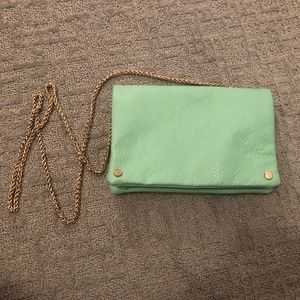 Handbags - Soft Leather Purse with Gold Hardware